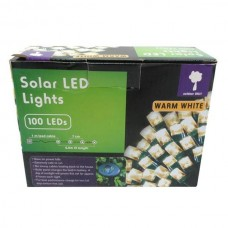 100L SOLAR LED LIGHTS WARM WHITE