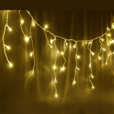 500L LED ICICLE LIGHTS WARM WHITE