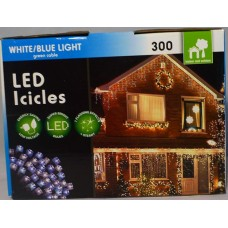 XB0144 - 300L LED BLUE/WHITE ICICLES