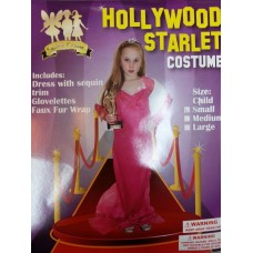Child Costume - Hollywood Starlet