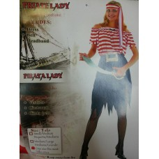 Adult Costume - Pirate Lady