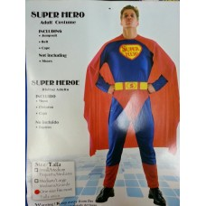 Adult Costume - Super Hero
