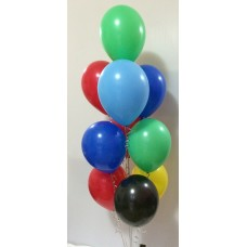 10 Balloon Arrangement