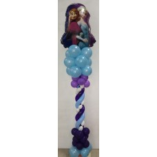 150cm Frozen Balloon Arrangement