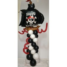 150cm Pirate Balloon Arrangement