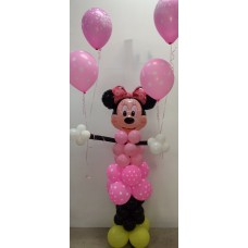 150cm Minnie Mouse Balloon Arrangement