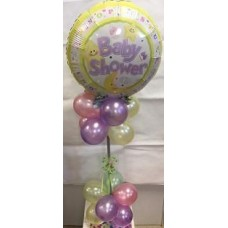 BABY SHOWER BALLOON TABLE COLUMN
