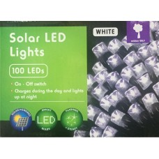 100L SOLAR LED LIGHTS WHITE