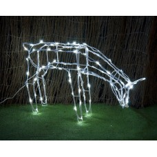 SOLAR LED FEEDING REINDEER
