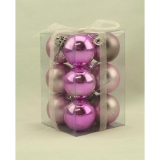 40mm Baubles Light Pink