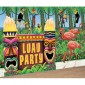 Luau Party Giant Decorating Kit