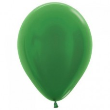 30cm Metallic Emerald Green Balloon
