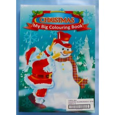 24PGE Christmas Colouring Book A3