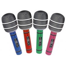 INFLATABLE MICROPHONE 30""