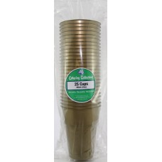 25PK Cups Gold